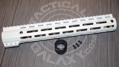 "Tactical Galaxy 13"" White Handgaurd"