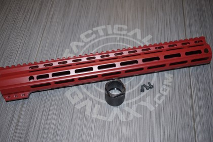 "Tactical Galaxy 15"" Crimson red Handgaurd"