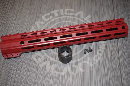 "Tactical Galaxy 13"" Crimson Red Handgaurd"