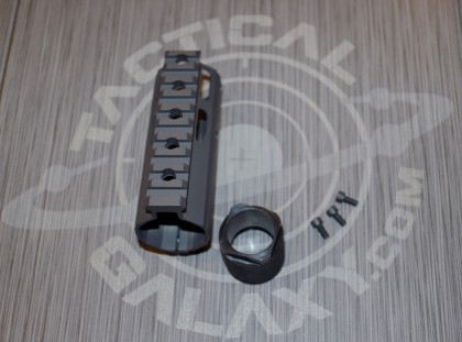 "Tactical Galaxy AR-15 sniper grey Cerakote 4"" Clamp on Handguard"