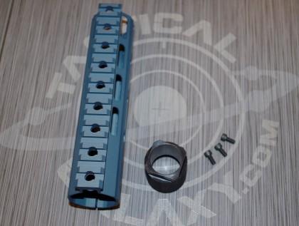 """Tactical Galaxy 7"""" titanium blue Handgaurd"""