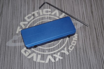AR15 RAIL COVER - BLUE ANODIZED