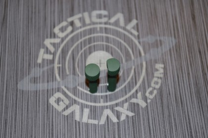 TAKEDOWN AND PIVOT PINS FOR AR15 HIGHLAND GREEN CERAKOTE
