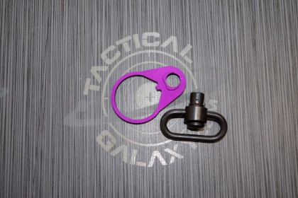 AR15 Blood Moon Purple Anodized QD END PLATE