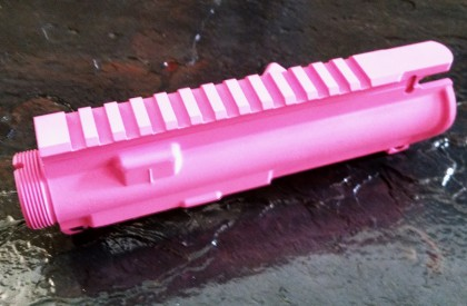 AR-15 / M16 UPPER RECEIVER - Cerakote Pink