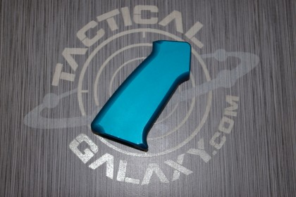 AR15 SLICK SIDE ALUMINUM PISTOL GRIP TEAL ANODIZED