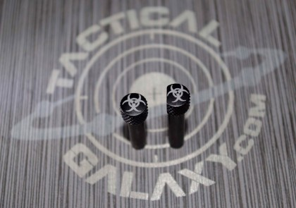 AR-15 Biohazard takedown and pivot pin set