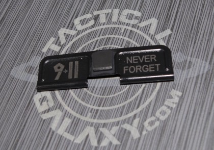 AR-15 911 NEVER FORGET  Ejection Port Dust Cover