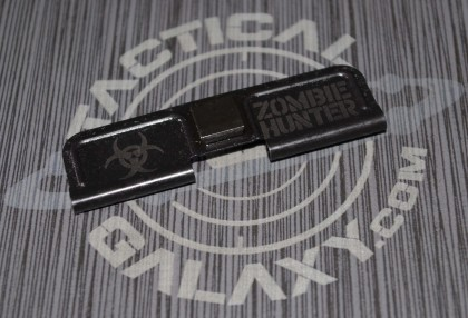 AR-15 ZOMBIE HUNTER BIO HAZARD Ejection Port Dust Cover