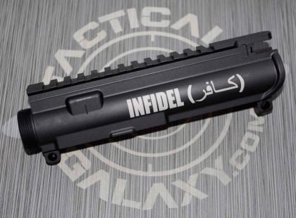 AR-15 M16 UPPER RECEIVER -INFIDEL