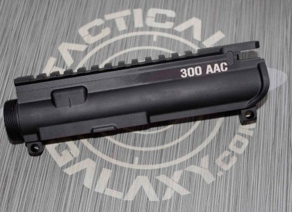 AR-15 M16 UPPER RECEIVER -300 AAC small logo Caliber marker
