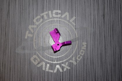 AR15 ENHANCED BOLT CATCH RELEASE LEVER BLOOD MOON PURPLE ANODIZED
