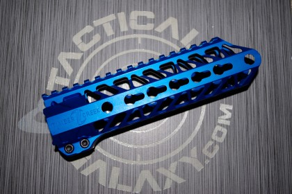 AR15 Blue Anodized ENFORCER 7.5 INCH HAND GUARD RAIL