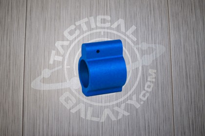 AR-15 BLUE ANODIZED LOW PROFILE GAS BLOCK