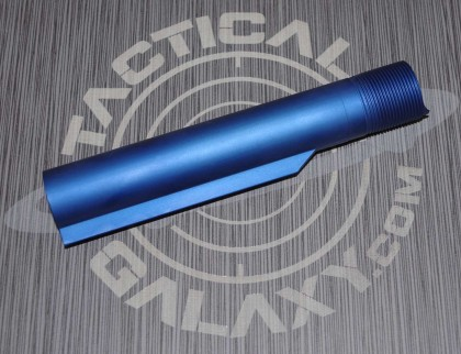 AR15 BLUE  Anodized BUFFER TUBEmil-spec With Custom Text or Logo.