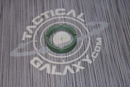 AR15 / AR10 CASTLE NUT FOR BUFFER TUBE 223 / LR 308 HIGHLAND GREEN CERAKOTE