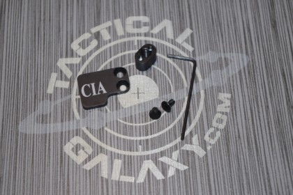 AR-15 2PC Oversized Magazine Extended Release Button - CIA