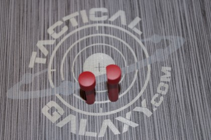 Takedown and pivot pins for AR15 CRIMSON RED CERAKOTE