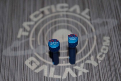 AR15 Pins ANODIZE Blue With Custom Text or Logo.