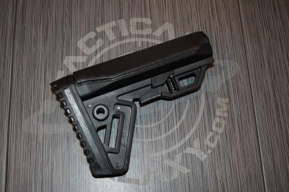AR-15 BLACK M.L.S Stock (Gen 2) ( Minimalistic Lightweight Stock )