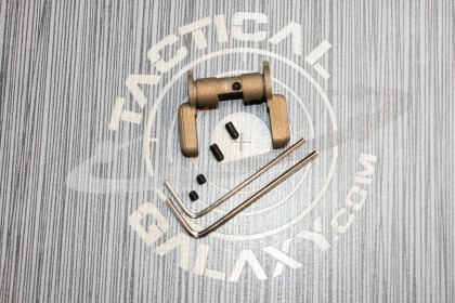 AR15 AMBI SAFETY SELECTOR LEVER-BURNT BRONZE CERAKOTE