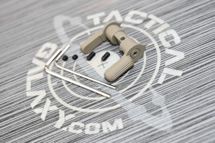 AR15  AMBI SAFETY SELECTOR LEVER FDE CERAKOTE