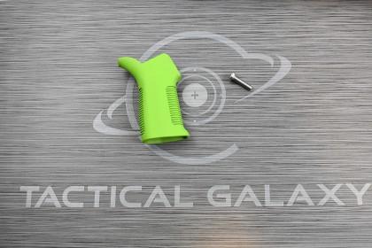 Zombie Green Cerakote AR15 17° pistol grip