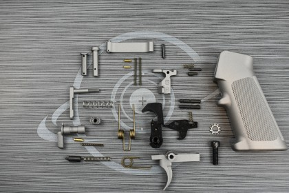 SAVAGE STAINLESS Cerakote anderson LPK ( lower parts kit )
