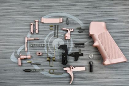 ROSE GOLD Cerakote anderson LPK ( lower parts kit )
