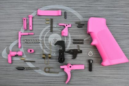 PINK Cerakote anderson LPK ( lower parts kit )