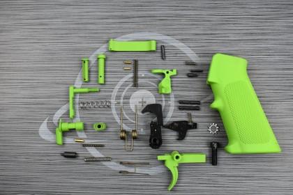 ZOMBIE GREEN Cerakote anderson LPK ( lower parts kit )