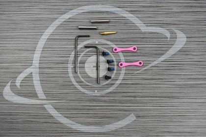 PINK CERAKOTE Anti Walk Hammer Trigger Pins