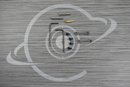SNIPER GREY CERAKOTE Anti Walk Hammer Trigger Pins
