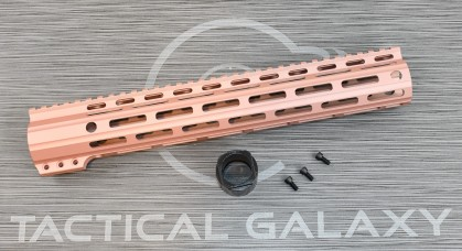 "Tactical Galaxy 13""  Rose Gold Handgaurd"