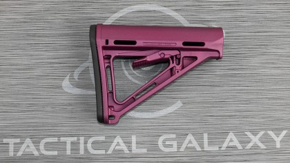 AR-15 BLACK CHERRY Cerakote MOE Carbine Stock