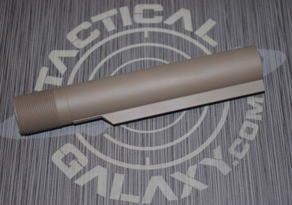 FDE AR-15 mil-spec cerakote buffer tube