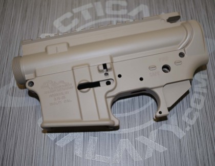 AR15 LOWER and UPPER COMBO SETS    FDE CERAKOTE
