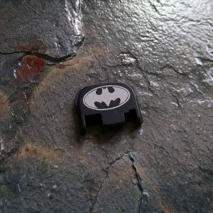 REAR SLIDE COVER PLATE FOR GLOCK - Batman