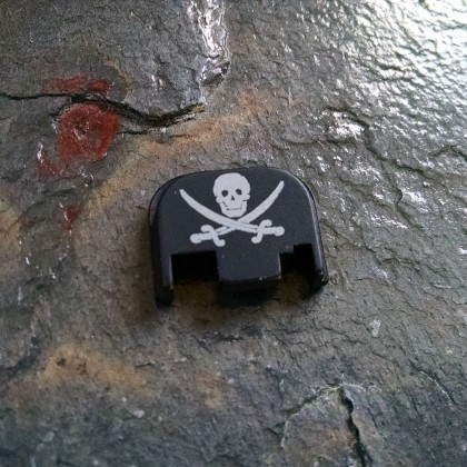 REAR SLIDE COVER PLATE FOR GLOCK - Jolly Roger