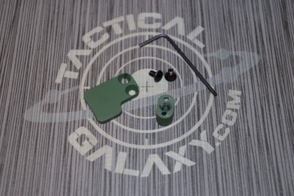 2 PC BUTTON FOR 223 HIGHLAND GREEN CERAKOTE-BLANK
