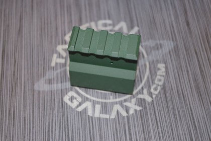 HIGHLAND GREEN CERAKOTE AR15 RAIL HEIGHT ADJUSTABLE gas block .750