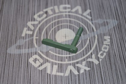 AR15 mag catch ( latch )  AR15 HIGHLAND GREEN CERAKOTE