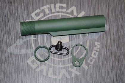 AR15 HIGHLAND GREENcerakote 3 pc rear kit