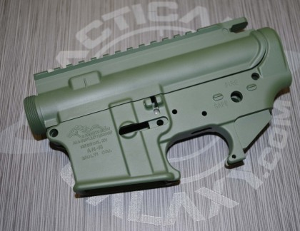 AR15 LOWER AND UPPER COMBO SETS HIGHLAND GREEN CERAKOTE