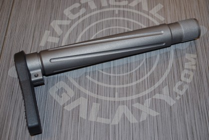 "TUNGSTEN CERAKOTE AR-15  Fixed  ""MINIMALIST"" STOCK"