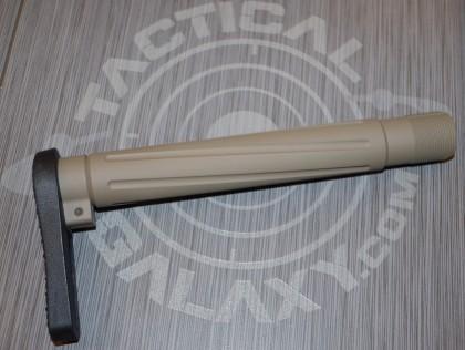 "FDE CERAKOTE AR-15  Fixed  ""MINIMALIST"" STOCK"