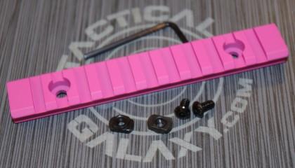 """Pink Cerakote 5"""" picatinny rail"""