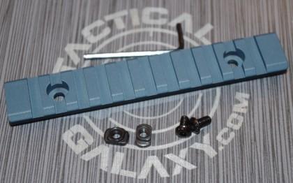 "Titanium Blue Cerakote 5"" picatinny rail"