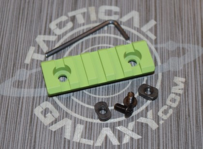 "zombie green 2 3/8"" picatinny rail"