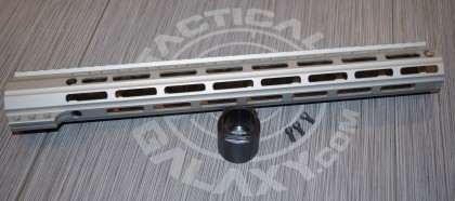 "Tactical Galaxy 15""  Savage stainless Handgaurd"